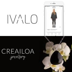 Find your own Crea Iloa jewelry easy fashion mobile app Ceramic Jewelry, Simple Style, Mobile App, Finding Yourself, Silver Jewelry, Easy, Instagram Posts, Accessories, Design
