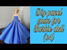 Sewing Barbie Clothes, Barbie Sewing Patterns, Sewing Patterns Free, Clothing Patterns, Doll Clothes, Barbie Doll House, Barbie Dolls, Ribbon Art, Barbie Accessories
