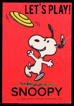 'Lets Play!', Snoopy