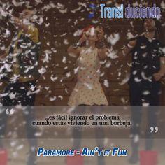 #Paramore - Ain't it fun