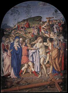 The Disrobing of Christ, Francesco di Giorgio Martini, ca. 1501