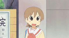 Nichijo - 日常 - Samon from the sky Animated Heart, Anime Mems, Nichijou, Anime Gifts, Cartoon Gifs, Popular Anime, Art Memes, Anime Artwork, Cute Art