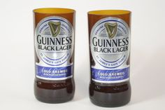Drinking Glasses  Recycled Beer Bottle  by CountryRichDesigns, $13.00
