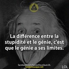 Citation Einstein, Quote Citation, Albert Einstein, Funy Quotes, Motivational Quotes, French Quotes, Bad Timing, Funny Facts, Meaningful Quotes