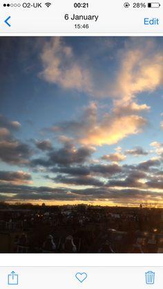 Happening sky....