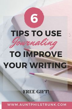 Free guide to help you improve your writing through a daily journaling routine.