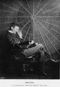 Nikola Tesla.  My favorite.  Mad genius, mechanical & electrical engineer and the man who wanted to give free energy to the masses via wireless energy transfer.