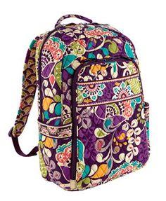 Vera Bradley Backpack ...I WANT.