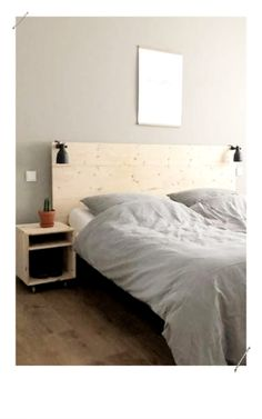 Choisir et fabriquer une tête de lit- MissZaStyle - Blog Déco Bedroom Inspo, Home Bedroom, Bedroom Decor, Bedrooms, Ikea Hack, Sweet Home, Diys, Furniture, Blog