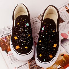 Harajuku galactic cosmic hand-painted canvas shoes sold by Harajuku Fashion Style. Shop more products from Harajuku Fashion Style on Storenvy, the home of independent small businesses all over the world.