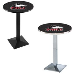 Northern Illinois Huskies Square-Base Pub Table. Visit SportsFansPlus.com for a Discount Coupon.