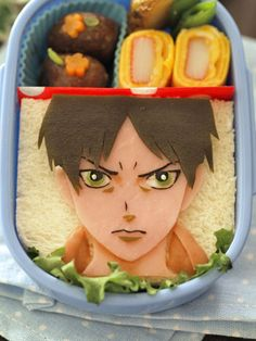 That is some awesome bento