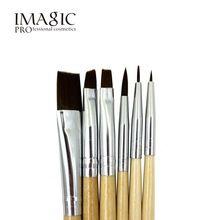 6 pcs IMAGIC escova pintura Corporal pintura da escova de pintura pintura facial jogo de escova maquiagem ferramentas pincel(China)