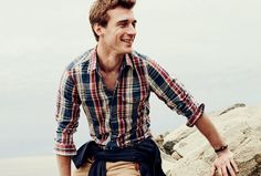 J.Crew men's slub cotton shirts. Lightweight but rugged shirts that look like your favorite flannels on a diet.