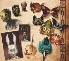 Capitalist Andrew Ryan — Nice collection of Splicer masks Bioshock Game, Bioshock Series, Bioshock Splicer, Bioshock Artwork, Tragic Comedy, Bioshock Cosplay, Butterfly Mask, Dead Space, Moda Masculina