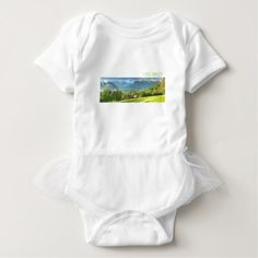 #Lake Annecy Baby Bodysuit - #travel #trip #journey #tour #voyage #vacationtrip #vaction #traveling #travelling #gifts #giftideas #idea