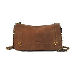 JÉRÔME DREYFUSS Bobi Bag In Goatskin. #jérômedreyfuss #bags #shoulder bags #
