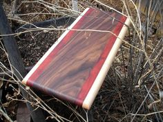 Handmade Wood Cutting Board FREE SHIPPING by TheGrainExpression