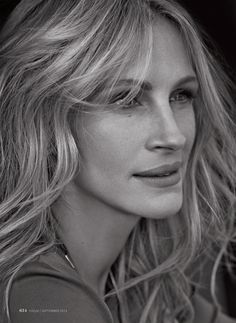 Julia Roberts, photographed byMichelangelo Di Battista for InStyle magazine, Sep 2014