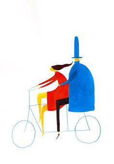 Lovely little illustration by Daniel Frost