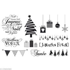 Kit tampon Noël - Cartes de voeux x 11