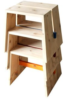 Florero moderno / de madera - MEDIO by Giuseppe Pruneri - Bdm s.r.l.