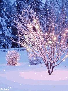 Зима - анимация на телефон №1202405