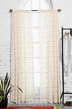 Curtain as headboard Inspo