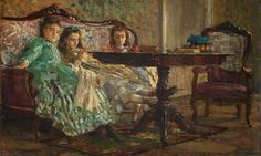 The Sisters Laskaraki - Giovanni Boldini