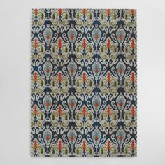 may be too teal rather than turq  One of my favorite discoveries at WorldMarket.com: Indigo Blue Pop Area Rug
