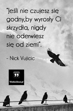 Jeśli nie czujesz się godny... #Vujicic-Nick,  #Motywujące-i-inspirujące