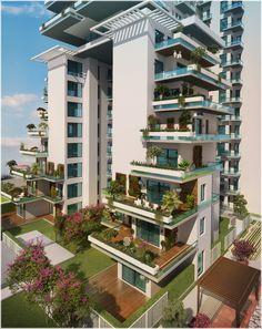 SAAN Verdante by SAAN group   Architects ACPL   concept and design development ACPL & renu robin design   rrD