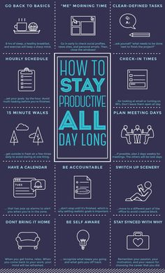 How To Stay Productive All Day - Productivity, Time Management, Motivation, & Goals Self Development, Personal Development, Leadership Development, Leadership Activities, Leadership Quotes, Professional Development, Coaching Personal, Life Coaching, Vie Motivation
