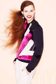 Elle US, August 2012