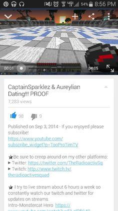 are captain sparklez and aureylian dating