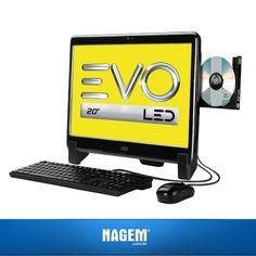 O PC All-In-One AOC EVO é a solução perfeita para quem busca inovação, performance e tecnologia. Confira nossa #OfertaNagem!