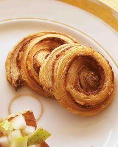Parmesan Spirals
