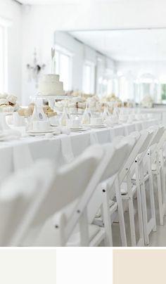 Gorgeous white on white kitchen tea party by Hello Naomi. All White Wedding, Dream Wedding, Wedding Day, White Weddings, Small Weddings, Intimate Weddings, Wedding Blog, Diy Wedding, Wedding Decor