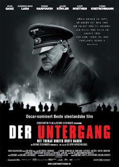 """Der Untergang"", biographical war film by Oliver Hirschbiegel (Germany, 2004)"