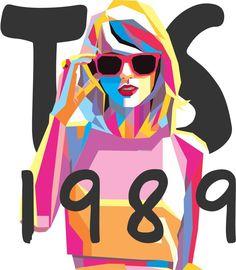 WPAP Taylor Swift 1989 by MadMota.deviantart.com on @DeviantArt