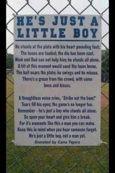food for thought when influencing children in sports....