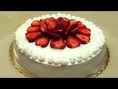 Çilekli Yaş Pasta Tarifi | Pasta Nasıl Yapılır - YouTube