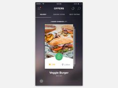 flip menu cards - easy and fast Mobile Web Design, Ios Design, Interactive Media, Interactive Design, Android Library, Card Ui, Restaurant Web, Swipe Card, App Design Inspiration