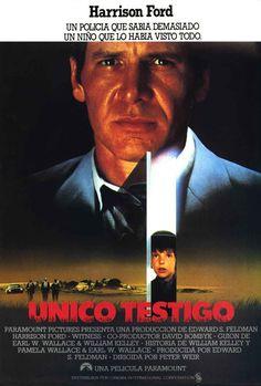 Único testigo (1985) EEUU. Dir: Peter Weir. Suspense. Relixión. Drama. Romance. Vida rural - DVD CINE 77