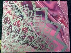 Check out this item in my Etsy shop https://www.etsy.com/listing/556325139/mandala-painting-pink-purple-acrylic