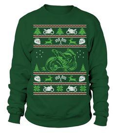 Superbike Ugly Christmas Sweater  #ugly #sweatshirts #sweatshirtshoodies