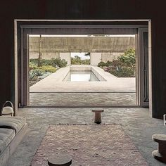 "Via @_roomonfire Villa Alem photographed by Paulo Catrica for @wsjmag. | ""In Portugals Alentejo region Swiss architect Valerio Olgiati has designed a massive avant-garde concrete structurea personal retreat that gestures to the heavens."""