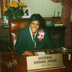 Today in Black History - July 12, 1976  Texas Congresswoman, Barbara Jordan became the first African American to give the keynote address at a political convention by speaking at the Democratic Convention.  Congresswoman Jordan was also a leader of the Civil Rights movement, the first African American elected to the Texas Senate after Reconstruction and the first southern black female elected to the United States House of Representatives.