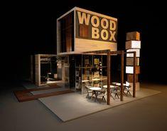 """다음 @Behance 프로젝트 확인: """"Design of exhibition stand for """"WOOD BOX"""""""" https://www.behance.net/gallery/11382489/Design-of-exhibition-stand-for-WOOD-BOX"""