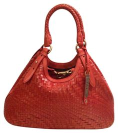 Cole Haan Genevieve New! Woven Leather Hobo Satchel Handbag Spicy Orange Red Orange Brown Golden Brown Tote Bag. Get one of the hottest styles of the season! The Cole Haan Genevieve New! Woven Leather Hobo Satchel Handbag Spicy Orange Red Orange Brown Golden Brown Tote Bag is a top 10 member favorite on Tradesy. Save on yours before they're sold out! GORGEOUS!!! BRAND NEW WITHOUT TAGS!!! WILL MAKE AN EXCELLENT GIFT FOR ANY LUCKY LADY!!! SALE!!! WOW!!!